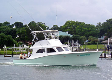 Wrightsville Beach Charter Boat - Whipsaw