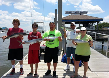 Wrightsville Beach King Mackerel Fishing
